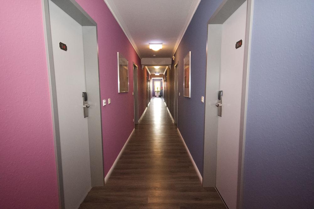 Hallway Gaestehaus Bavaria Regensburg Germany